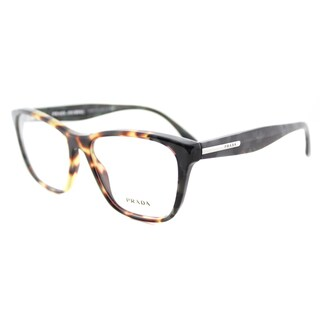 Prada PR 04TV U6M1O1 54mm Havana Plastic Square Eyeglasses