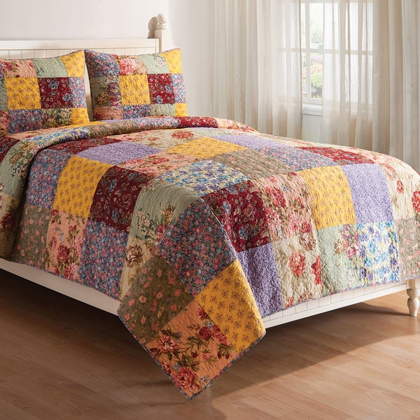 Floria Cotton Quilt Set - On Sale - Free Shipping Today ... : cotton quilts - Adamdwight.com