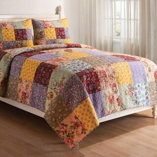 Floria Cotton Quilt Set