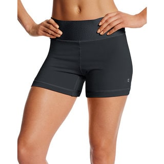Champion Women's Absolute Fusion Shorts with SmoothTec Waistband (Option: Black)