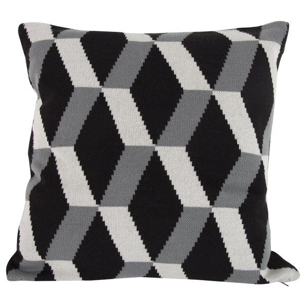 Cotton Cashmere 20-inch x 20-inch Throw Pillow