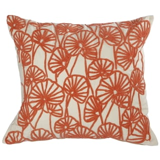 Orange Embroidered Throw Pillows For Less Overstockcom