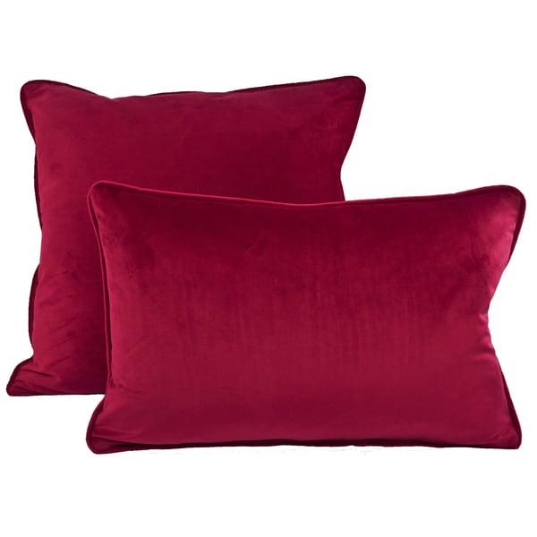 Sherry Kline Richmond Velvet Combo Throw Pillow - Free Shipping Today - Overstock.com - 19189447
