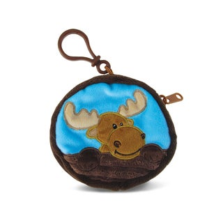 Puzzled Kids' 4-inch Moose Coin Bag