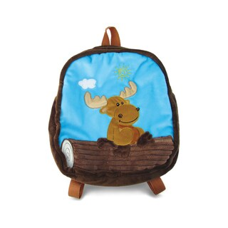 Puzzled Moose 11-inch Backpack