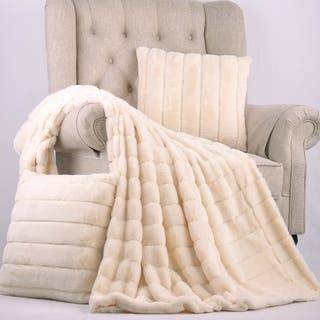 BOON Rabbit Faux Fur Throw & Pillow Combo Set|https://ak1.ostkcdn.com/images/products/12363135/P19189480.jpg?impolicy=medium