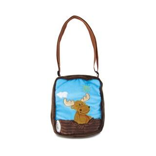 Puzzled 9-inch Moose Shoulder Bag