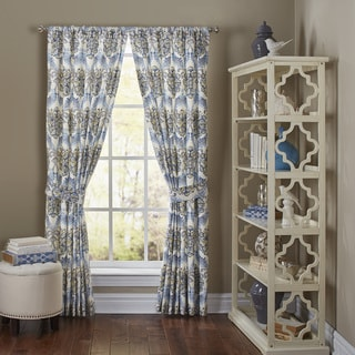 Waverly 'Over the Moon' Cotton Curtain Panel Pair