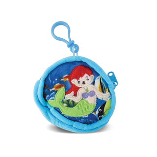 Puzzled Mermaid 4-inch Coin Bag