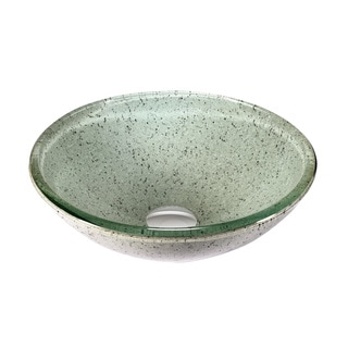 Legion Furniture Peppermint Glass Vessel Sink Bowl