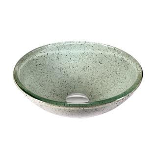 Legion Furniture Peppermint Glass Vessel Sink Bowl