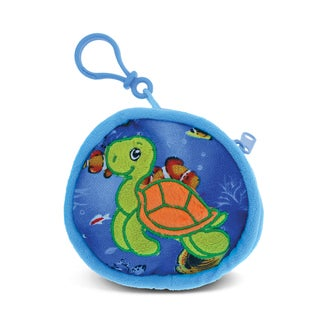 Puzzled 'Turtle' 4-inch Coin Bag - Multi-color