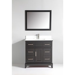 Vanity Art Phoenix Stone Top 36-inch Single-sink Bathroom Vanity Set