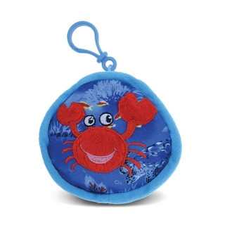 Puzzled 4-inch Crab Coin Bag