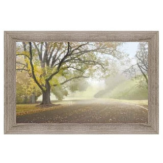 Donald Satterlee - Early Morning Fog Framed Art