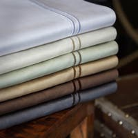 Malouf Genuine Egyptian Cotton 600 Thread Count Pillowcases (Set of 2)