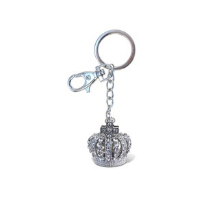 Puzzled Crown Sparkling Charm
