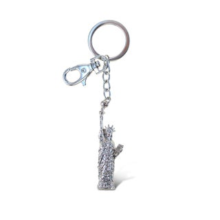 Puzzled Sparkling Statue Of Liberty Charm