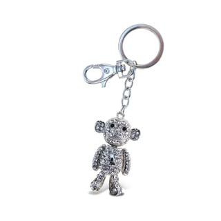 Puzzled Sparkling Charms Clear Monkey