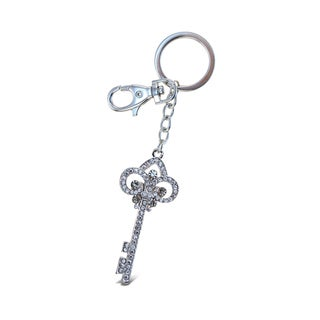 Puzzled Sparkling Charms Clear Royal Key