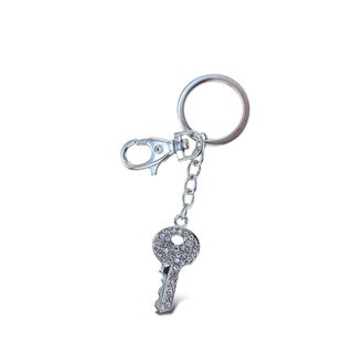 Puzzled Clear Key Sparkling Charm - S