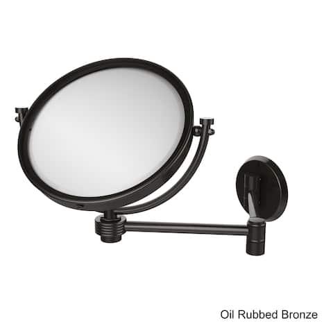 Allied Brass 8-inch Wall-mounted Extending Makeup Mirror