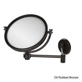 Allied Brass 8-inch Wall-mounted Extending Makeup Mirror