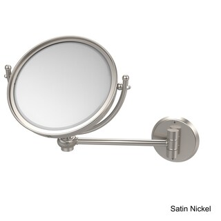Allied Brass 8-inch Wall Mounted Makeup Mirror with 5X Magnification