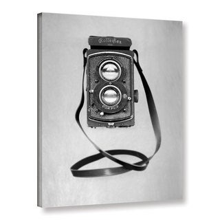 Alan Blaustein's 'Retro Point and Shoot 4' Gallery Wrapped Canvas
