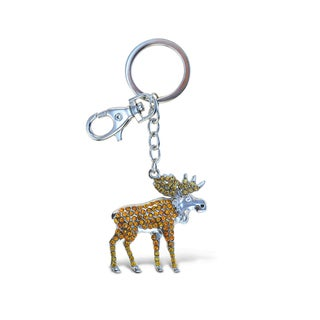 Puzzled Wild Moose Sparkling Charms