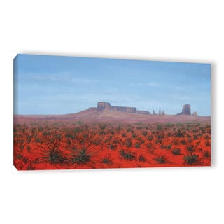 Gene Foust's 'Southwestern Desert' Gallery Wrapped Canvas