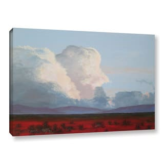 Gene Foust's 'Clouds Over Southwestern Desert' Gallery Wrapped Canvas