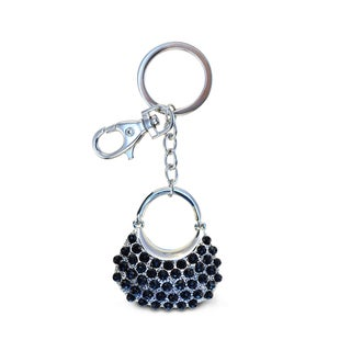 Puzzled Sparkling Stylish Black Bag Charms