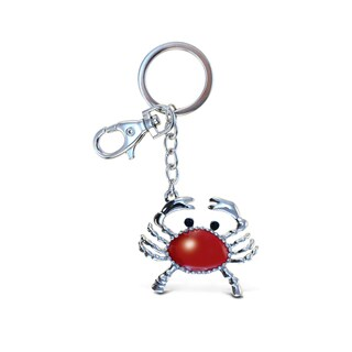 Puzzled Stylish Sparkling Red Crab Charm - S