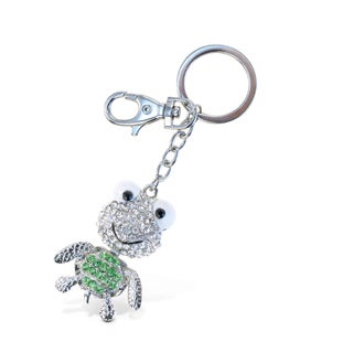 Puzzled Sparkling Charms Big Eyes Sea Turtle