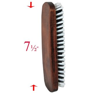 Smartek SC-BR35 Solid Wood Clothes Brush with Soft, Sturdy Bristles and a Handy Grip