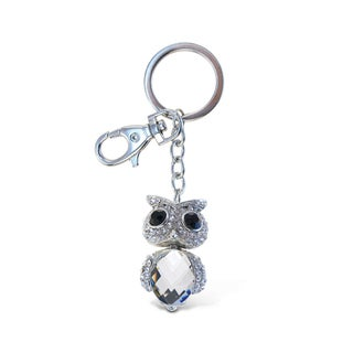 Puzzled Clear Owl 2 Sparkling Charm