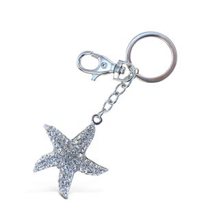 Puzzled Clear Starfish Sparkling Charms