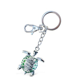 Puzzled Sparkling Charms Green Sea Turtle 2