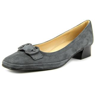 Amalfi By Rangoni Women's Mora Grey Suede Dress Shoes