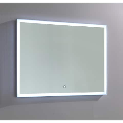Vanity Art LED-lighted Touch Sensor Mirror - Clear - A/N