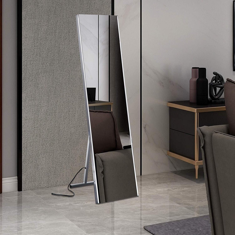 Shop Vanity Art Freestanding 63 Inch LED Lighted Full Length Floor