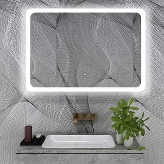 Vanity Art LED Lighted Mirror With Touch Sensor|https://ak1.ostkcdn.com/images/products/12364414/P19190624.jpg?impolicy=medium
