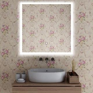 Vanity Art LED-lighted Touch-sense Mirror