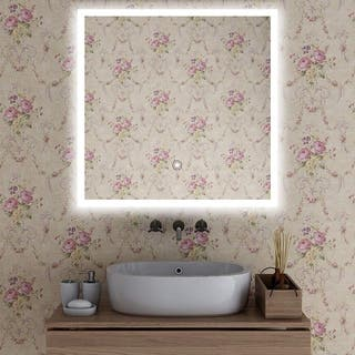 Vanity Art LED-lighted Touch-sense Mirror|https://ak1.ostkcdn.com/images/products/12364416/P19190625.jpg?impolicy=medium