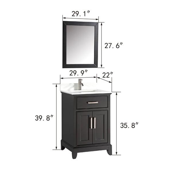Shop Vanity Art 30-Inch Single Sink Bathroom Vanity Set ...