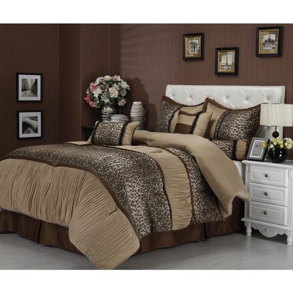 nanshing sadie 7 piece comforter set free shipping today overstock