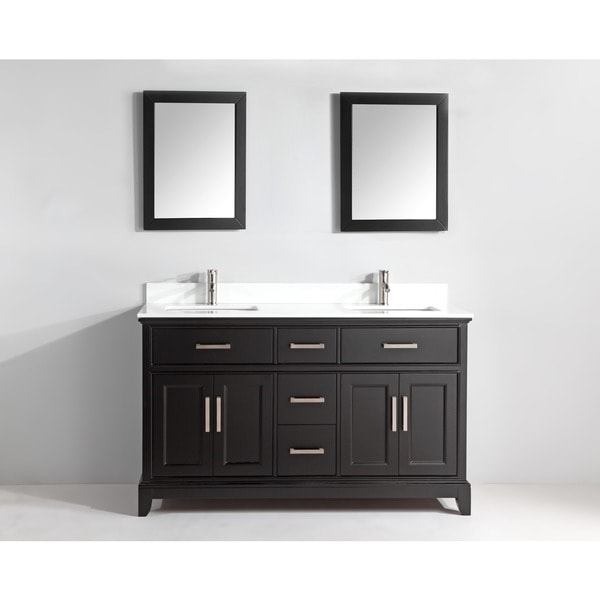 Vanity Art 72 Inch Double Sink Bathroom Vanity Set With Phoenix Stone Top Free Shipping Today