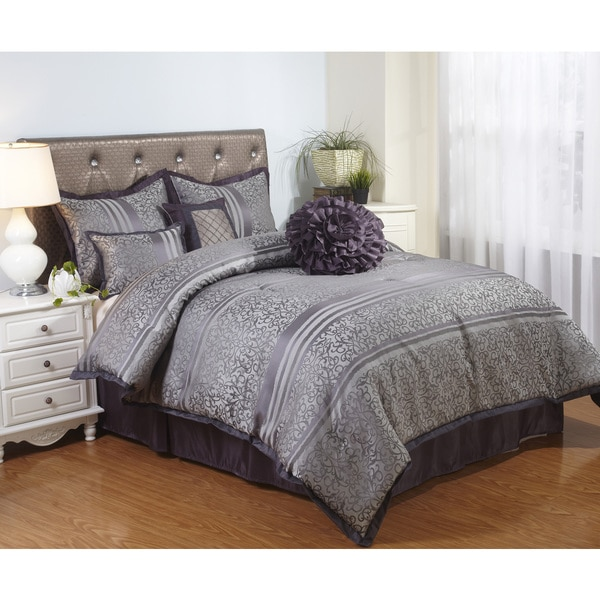 nanshing paige 7 piece comforter set free shipping today overstock