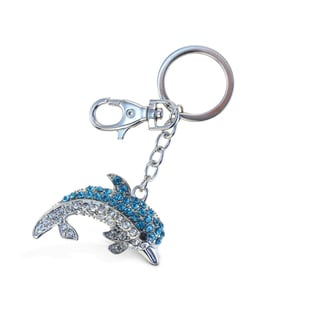 Puzzled Blue Dolphin 2 Sparkling Charm